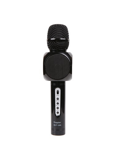 Doppler Karaoke Mikrofonu - Şık Dizayn Siyah